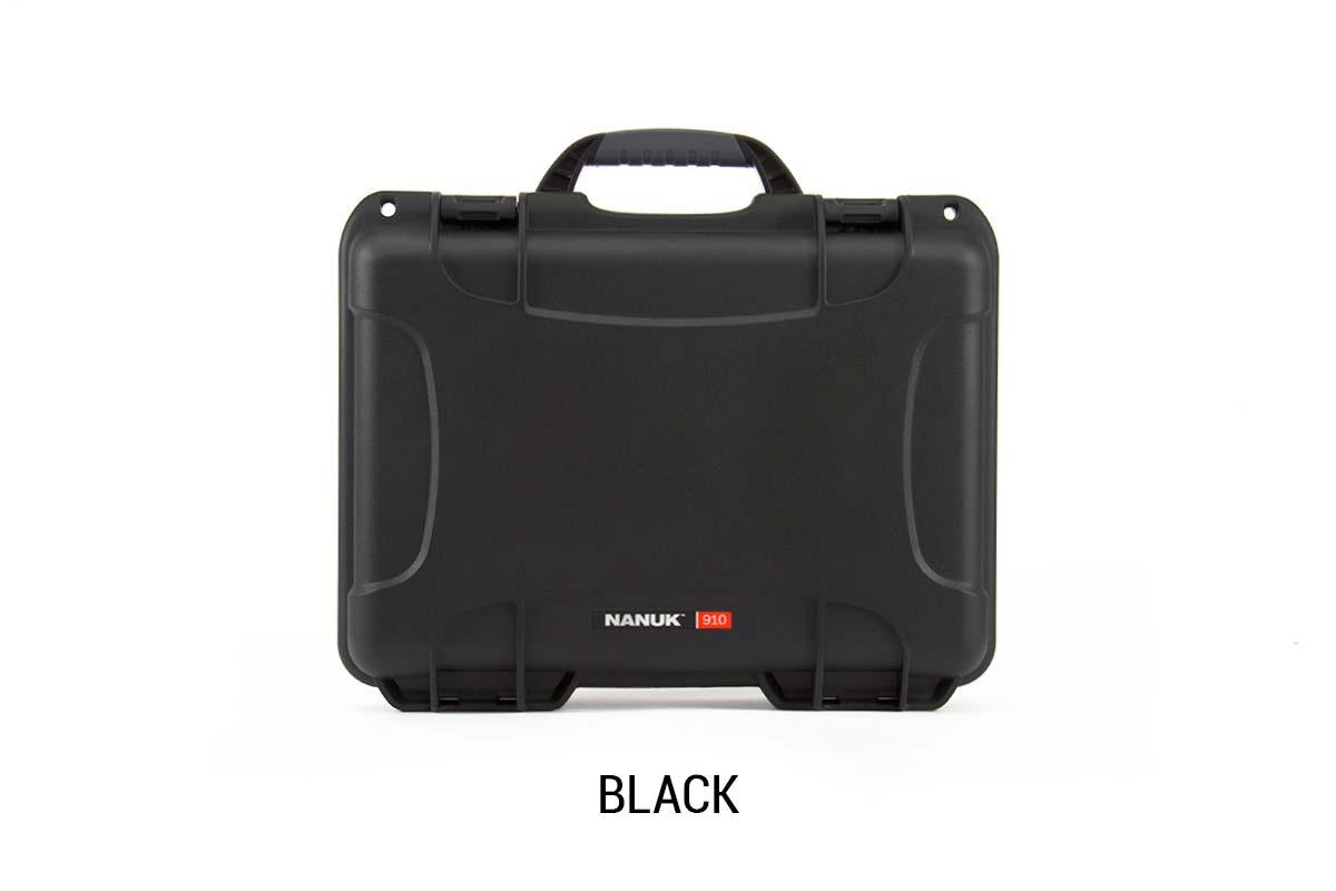 Nanuk 910 Case w/ Cubed Foam