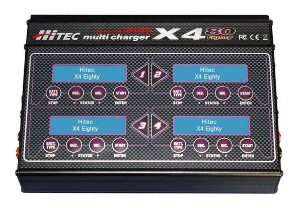 Hitec X4-Eighty Four Port DC/DC Multi-Charger
