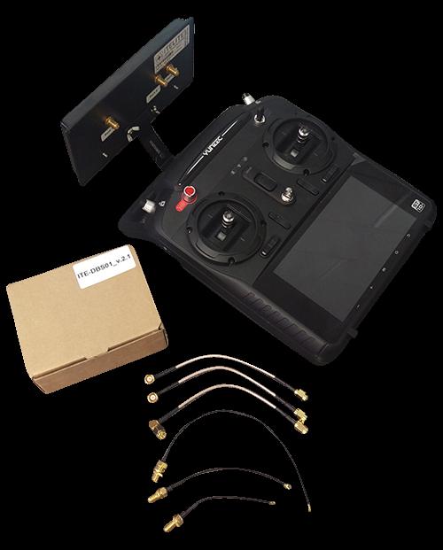 Itelite DBS Extender - ITE-DBS01.5B Black Flat Panel Antenna - Yuneec Q500 Series & Blade Chroma