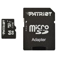 Patriot Memory 64GB microSDXC Class 10 Flash Card