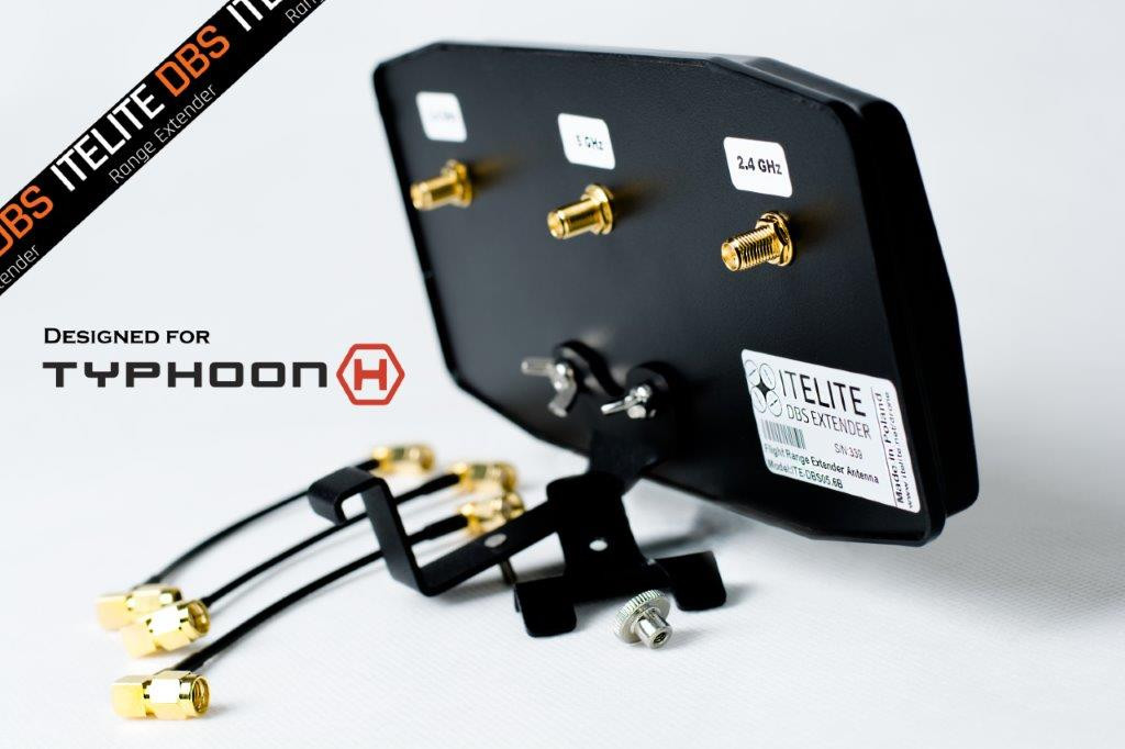 itelite DBS Extender ITE-DBS05.6B Flat Panel Antenna - Yuneec Typhoon H Pro (ITE-DBS05.6B)