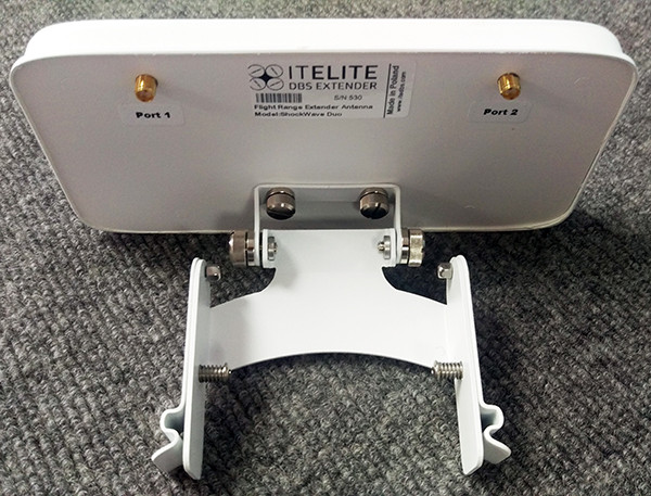 Itelite DBS Flight Range Antenna - DJI Phantom 4 PRO/ADV/Inspire2- SHOCKWAVE DUO (SHOCKWAVEDUO)