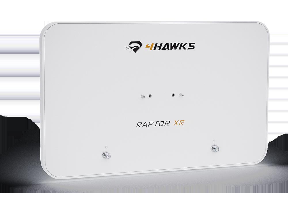4Hawks Raptor XR Range Extender Antenna | DJI P4 PRO / P4 ADV / Inspire 2 (RAPTORXR)