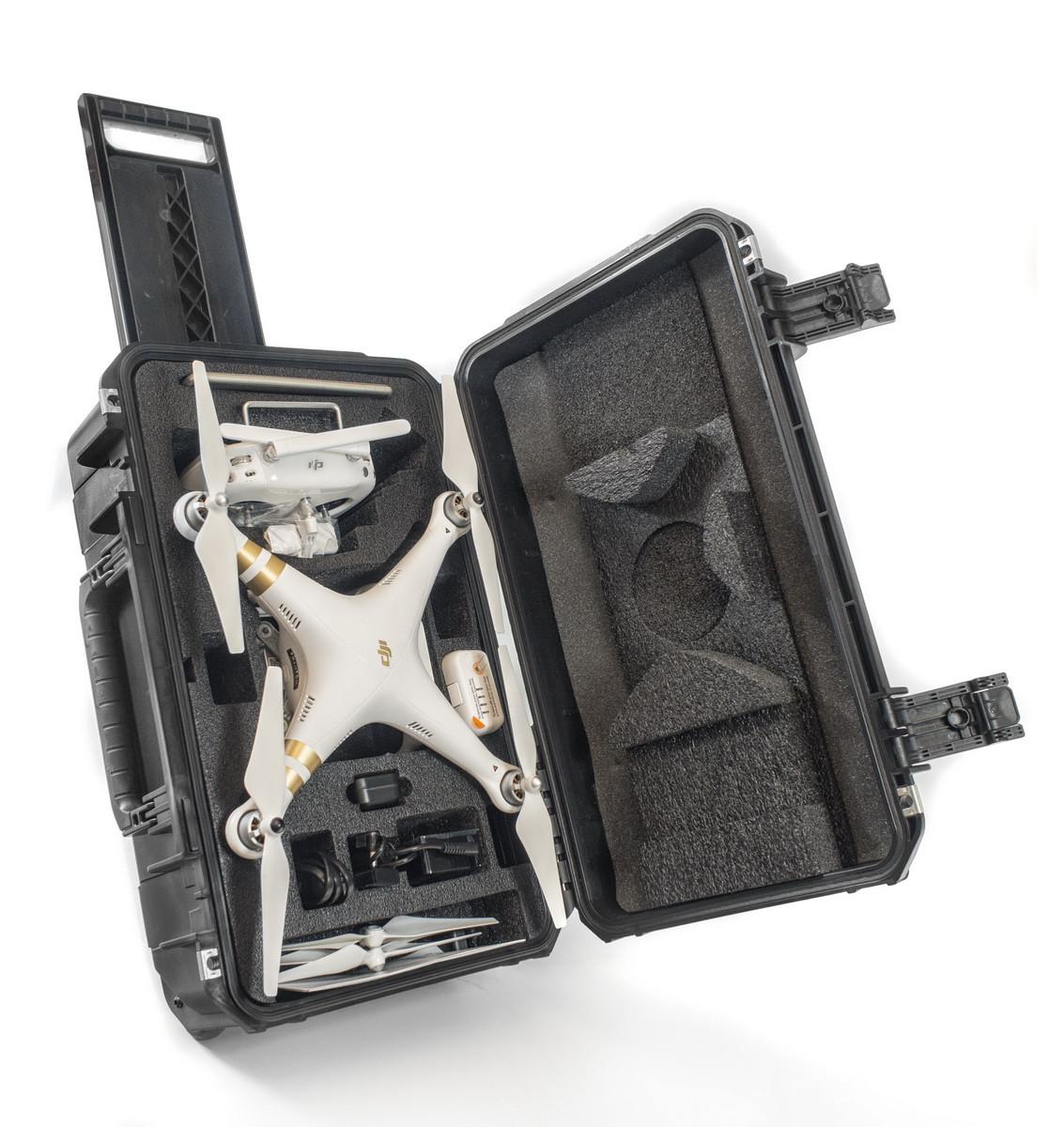CasePro DJI Phantom 3 Drone Wheeled Carry-On Hard Case (CP-PHAN3-CO)
