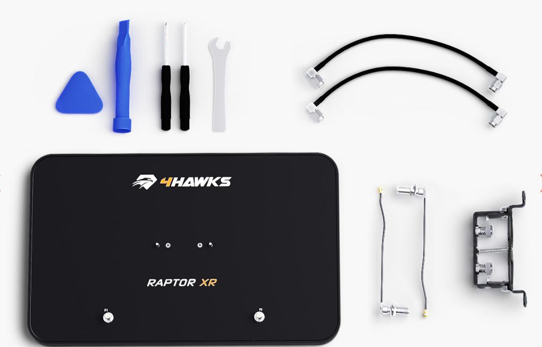 4Hawks Raptor XR Range Extender Antenna - DJI Mavic