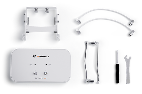 4Hawks Raptor SR Range Extender Antenna   DJI P4 PRO V2.0 (A115S)