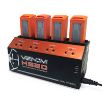 Venom Pro Yuneec H520 & Typhoon H+ 4-Port Battery Charger w/ Dual USB Outputs