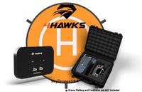 4Hawks Bundle | Raptor SR Antenna | Case | Landing Pad for DJI Mavic Pro (S100)