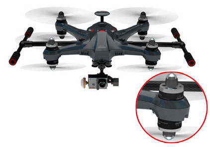 WALKERA SCOUT X4 (CARBON) GOPRO EDITION & GROUNDSTATION (ScoutX4 GoPro FPV3)