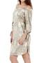 Maya Gold Metallic Bardot Dress luv2nv