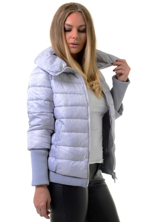 Silver Puffer Jacket, Puffer Jacket, White Puffer Jacket, Luv2nv Jackets & Coats,