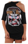 Tasha Born To Be Wild Choker T-Shirt Dress