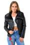 Faux Leather PU Biker Jacket, Luv2nv Coats & Jackets,