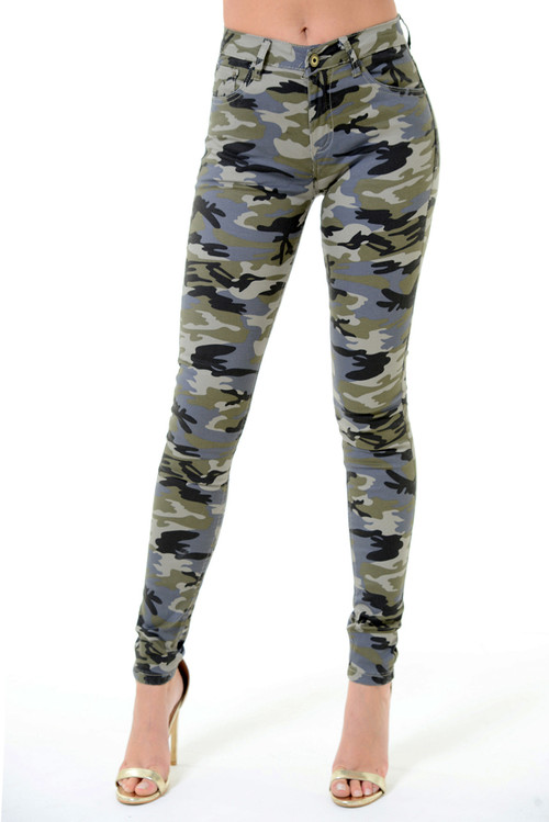 Camouflage Skinny Jeans, Skinny Jeans, Ripped Skinny Jeans, Luv2nv Jeans,