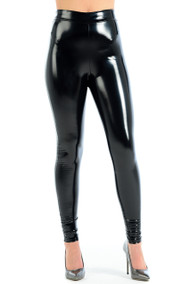 Stacy HI GLOSS Wet Look Leggings