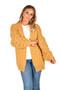 Mustard Bobble Sleeve Cardigan,  Mustard Bobble Knit Cardigan,  Mustard Cable Knit Cardigan, Mustard Cardigan,