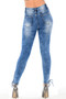Ankle Lace Skinny Jeans, Denice Ankle Lace Skinny Jeans , Luv2nv, Skinny Jeans, Ripped Skinny Jeans, Distressed Skinny Jeans,