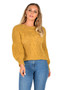 Balloon Sleeve Jumper, Mustard Balloon Jumper, Balloon Jumper, Cable Balloon Jumper,