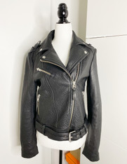 Mackage Motorcycle Leather Jacket