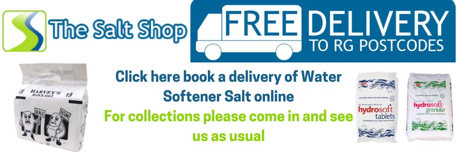 Water softener salt orders