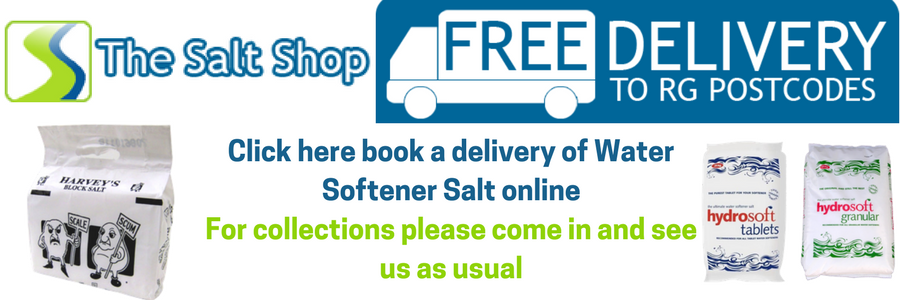 Water softener salt orders