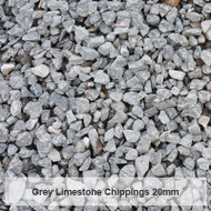 Grey Limestone Chippings
