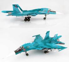 HobbyMaster Russian Air Force Sukhoi SU-34 Fullback Oleg Peshkov Commemorative Scheme 1/72
