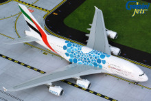 GeminiJets Emirates Airbus A380 A6-EOC Blue Expo 2020 Livery 1/200 G2UAE779
