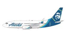 GeminiJets Alaska Boeing 737-700W N614AS 1/400 GJASA1871