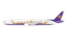 GeminiJets Thai Airways Boeing 777-300 HS-TKF Royal Barge Livery 1/400 GJTHA1891