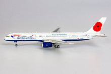 NG Models British Airways Boeing 757-200W Pause to Remember - Poppy colours 1/400