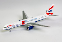 NG Models British Airways Boeing 757-200W G-BMRB Union Flag Pause to Remember - Poppy colours 1/400