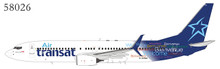 NG Models Air Transat Boeing 737-800/w C-GTQG  with scimitar winglets 1/400 NG58026