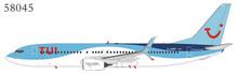 NG Models TUI Boeing 737-800/w  G-TAWF with scimitar winglets 1/400 NG58045