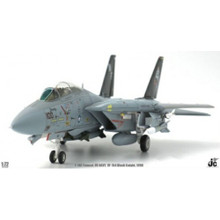 JC Wings Military F-14A Tomcat VF-154 Black Knight USS Kitty Hawk (CV-63) 1998 1/72 JCW72F14003