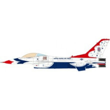 JC Wings Military F-16C Fighting Falcon USAF Thunderbirds 70th Anniversary Edition 2017 1/72 JCW72F16005