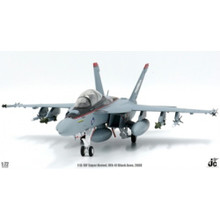 JC Wings Military F/A-18F Super Hornet VFA-41 Black Aces USS Nimitz CVN-68 2008 1/72 JCW72F18001