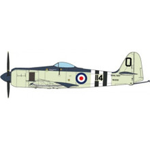 JC Wings Military Hawker Sea Fury FB MK.II P.Carmichael, No.802 SQN FAA Korean War 1952 1/72 JCW72SFURY001