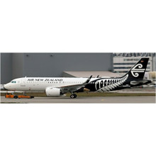 JC Wings Air New Zealand Airbus A320EO Reg: ZK-NHA With Stand 1/200 JC2269
