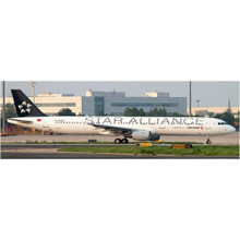 JC Wings Air China Airbus A321 Star Alliance Reg: B-6383 With Antenna 1/400 JC4070