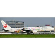 JC Wings Japan Airlines Boeing 767-300ER 35th Happiest Celebration Reg: JA612J With Antenna 1/400 JCEW4763001