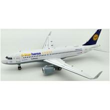 JFox Lufthansa Airbus A320-214 5 Starhansa D-AIZX With Stand 1/200 JFA320012