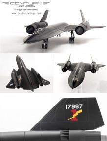 Century Wings SR-71A Blackbird USAF 9th SRW61-7967-1977 Lighning bolt  1/72 CW01630