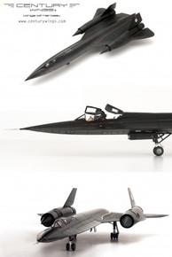 Century Wings SR-71A Blackbird U.S.A.F 9th SRW61-7972/1990 Skunk Works-ltd700 1/72 CW01631