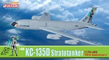 "Dragon Warbirds KC-135D Stratotanker 117th ARS ""40th anniversary"" 1/400 DW56277"