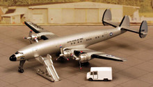 Dragon Warbirds VC-121 USAF with Ground Service Equipment and Display Box 1/400 DW55775