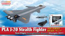 Dragon Warbirds J-20 Stealth Fighter Test Flight Heungtianba Airport 2011 1/144 DW51030