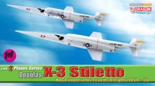 Dragon Warbirds Douglas X-3 Stiletto NACA Supersonic Research Flights 1954-56 1/144 DW51035