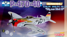 "Dragon Warbirds P-47D Thunderbolt ""Big Ass Bird II"" 9th AF, 406th FG, 513th - 1/72 DW50203"
