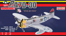 "Dragon Warbirds P-47D Thunderbolt  362nd FG ""Five by Five"" - 1/72 DW50210"